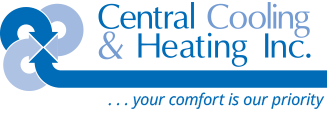 Central Cooling and Heating logo