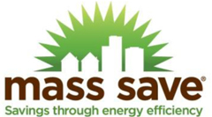 Save money with MassSave energy rebate program.